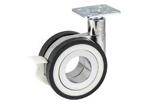 גלגל חלול עם פלטה ומעצור