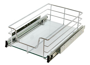 007G סל מסילה עם זכוכית