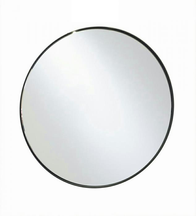 מראה עגולה שחורה קוטר 50 ס