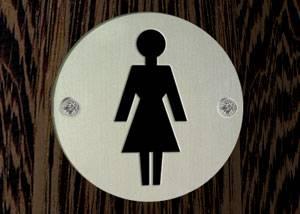 שלטים לשירותי נשים SP009