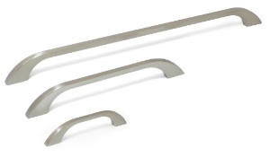 דגם 5080 ידית שטוחה עם קצוות מעוגלים ניקל מוברש