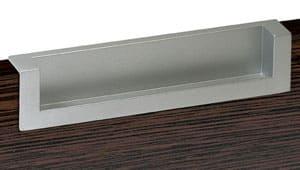 E616 ידית שקועה פתוחה 96 ממ צבע כרום מט