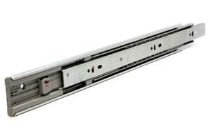 """.1030 זוג מסילות לאגר שליפה כפולה עם בולם טריקה SOFT CLOSE, גובה 45 מ""""מ"""