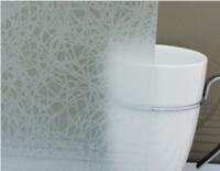 זכוכית אסיד מעוטרת דגם נול