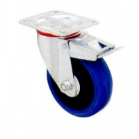 גלגל גומי כחול